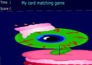 Card matching game