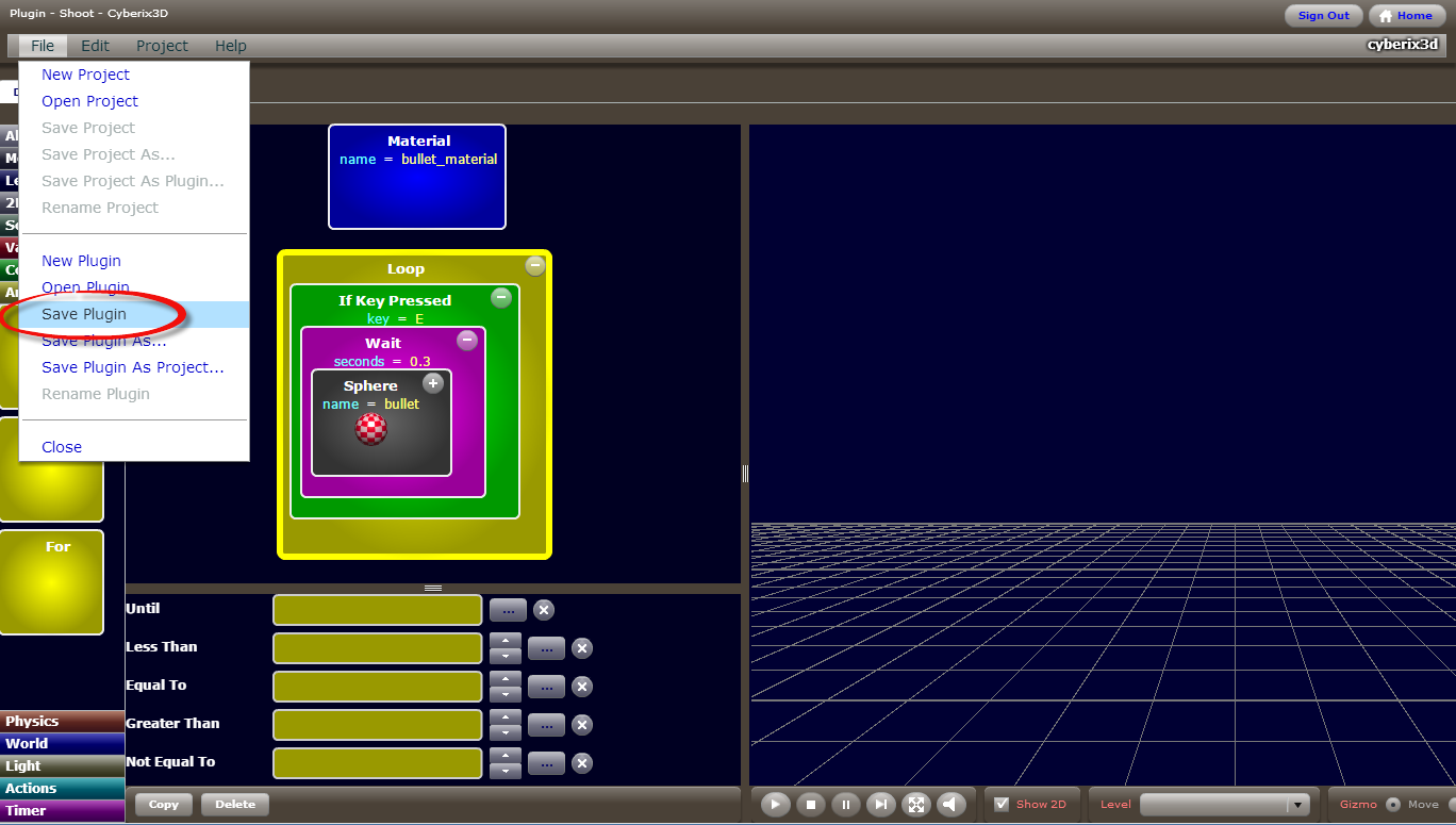Cyberix3d free online 3d game maker cyberix3d topic for Building maker online